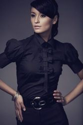 NEW WITH TAG EXCLUSIVE SMART SHIRT- SIZE 10